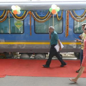 Wonder what it's like to travel on India's fastest train?