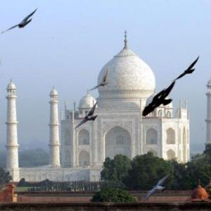 Som's right: Foreigners built the Taj