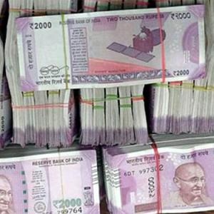 There is something foreign about the Rs 2000 & Rs 500 notes