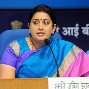Creating jobs is Smriti Irani's biggest challenge