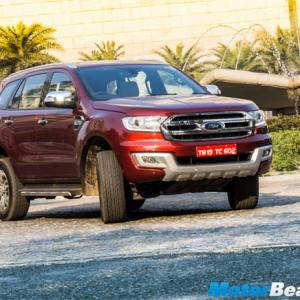Will Ford Endeavour become India's No 1 SUV?