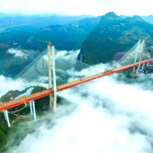 The world's highest bridge is finally complete