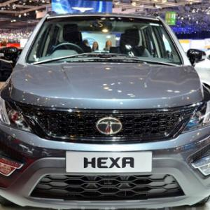 Tata Hexa to hit Indian roads by October