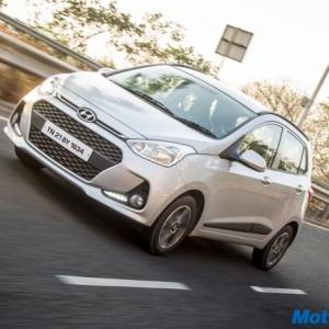 The Grand i10 now looks sportier