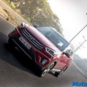 Hyundai Creta is an unmistakable urban SUV