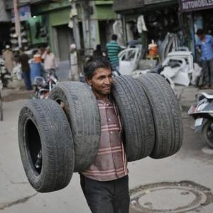 Auto sector woes hit tyre makers hard