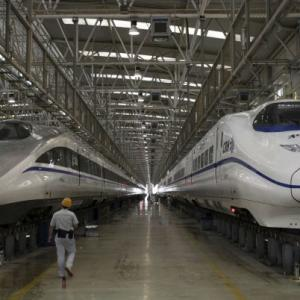 India's bullet train dream set to pick up speed