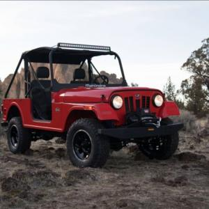 Is Mahindra Roxor a copy of Fiat Chrysler's Jeep?