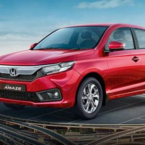 Honda Amaze: 2nd-biggest model in the compact sedan space
