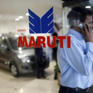 Brakes on sales figure of Maruti Suzuki
