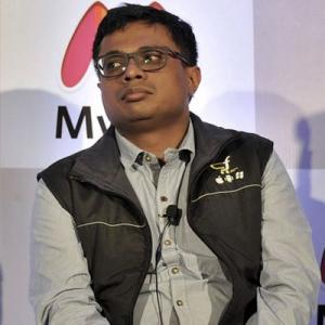 Sadly my work at Flipkart is done: Sachin Bansal