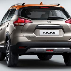 Nissan Kicks in with a bigger version