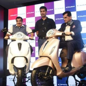 Bajaj brings Chetak back as all-electric 2-wheeler