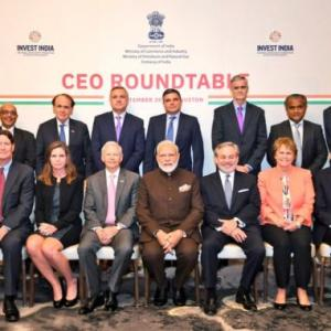 PM hits the ground running, meets CEOs in Houston