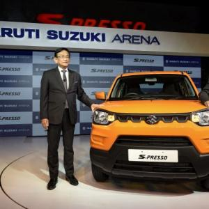 Maruti drives in mini SUV S-PRESSO at Rs 3.69 lakh