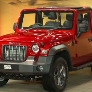 First Look: Mahindras' All New Thar 2020