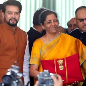 Budget in graphs shows Sitharaman's awry fiscal maths
