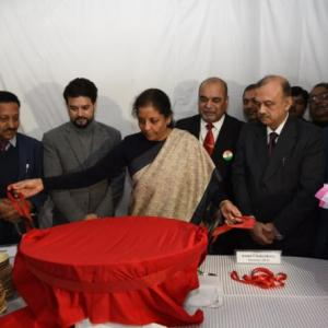Sitharaman kicks off Budget process with halwa ritual