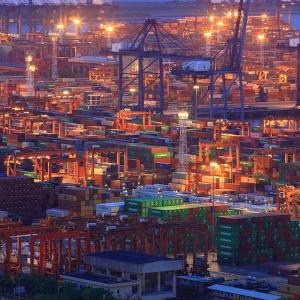Exports dip 5.12% in Oct; trade deficit narrows