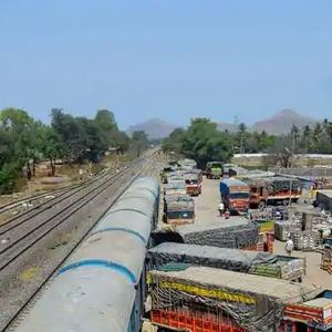 Railways back on track, stems fall in freight traffic