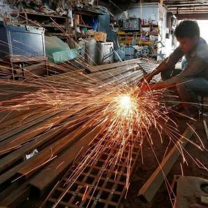Manufacturing activities fall; but firms remain upbeat