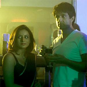 First look: Pooja Gandhi shoots for Abhimanyu