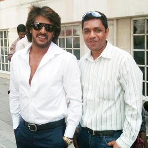 Spotted: Kannada actor Upendra in London