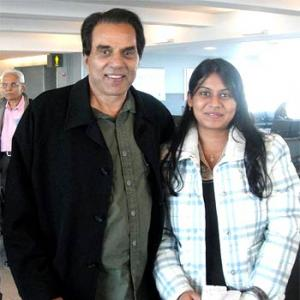 Spotted: Dharmendra in New York