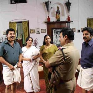 First Look: Mammootty in Pramani
