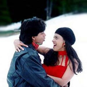 Romancing the winter, Bollywood style