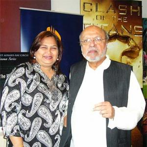 Spotted: Shyam Benegal in Singapore