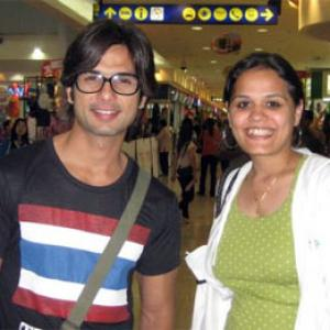 Spotted: Shahid Kapoor in Bangkok