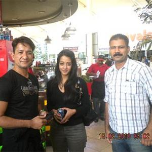Spotted: Raima Sen at Mumbai airport