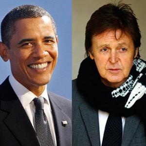 Barack Obama to honour Sir Paul McCartney