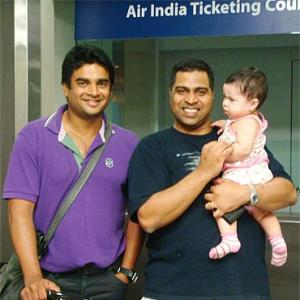 Spotted: R Madhavan at Kuala Lumpur airport