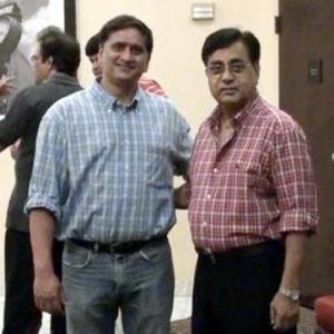 'My picture with late Jagjit Singh'