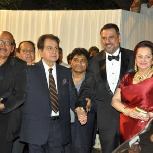 PIX: Stars attend Boman Irani's son's reception party