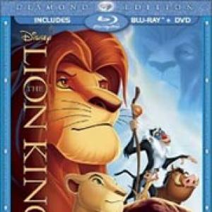 The Lion King blu-ray hits stores worldwide tomorrow