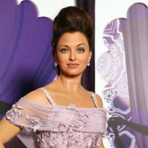 PIX: Aishwarya's new wax statue debuts at Tussauds, Blackpool