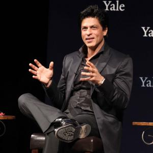 PIX: When Shah Rukh Khan kept his date with Yale