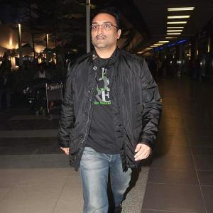 SPOTTED! Aditya Chopra, Rani At Mumbai Airport