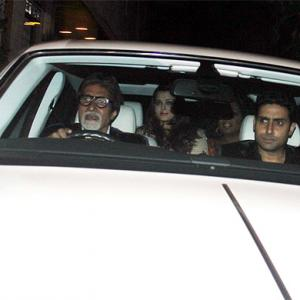 Oprah parties with Bollywood stars