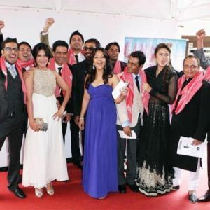 PIX: Anurag Kashyap and team at Cannes!