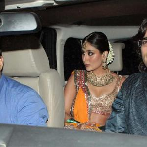 PIX: Stars attend Saif-Kareena sangeet ceremony