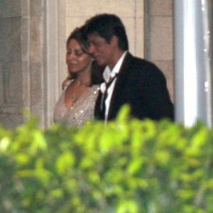 PIX: SRK, Kapoors at Saif-Kareena wedding reception