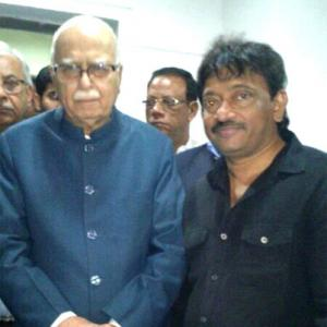 When Ram Gopal Varma made L K Advani cry