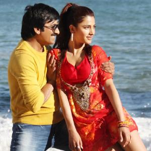 First look: Ravi Teja, Shruti Haasan in Balupu