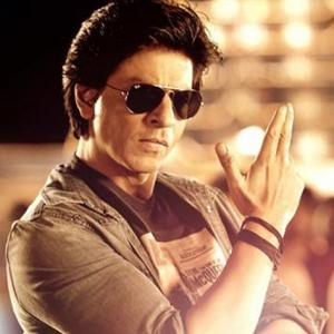 Shah Rukh Khan, a man of many poses