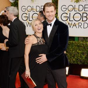 Golden Globes, 2014: On the red carpet with Thor actor Chris Hemsworth