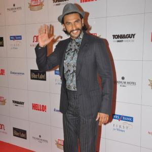 PIX: Ranveer Singh's WHACKY Fashion Style